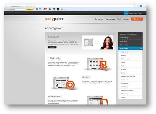 Partypoker Get Started Mission