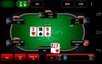 Poker Stars No limit cards Texas Holdem