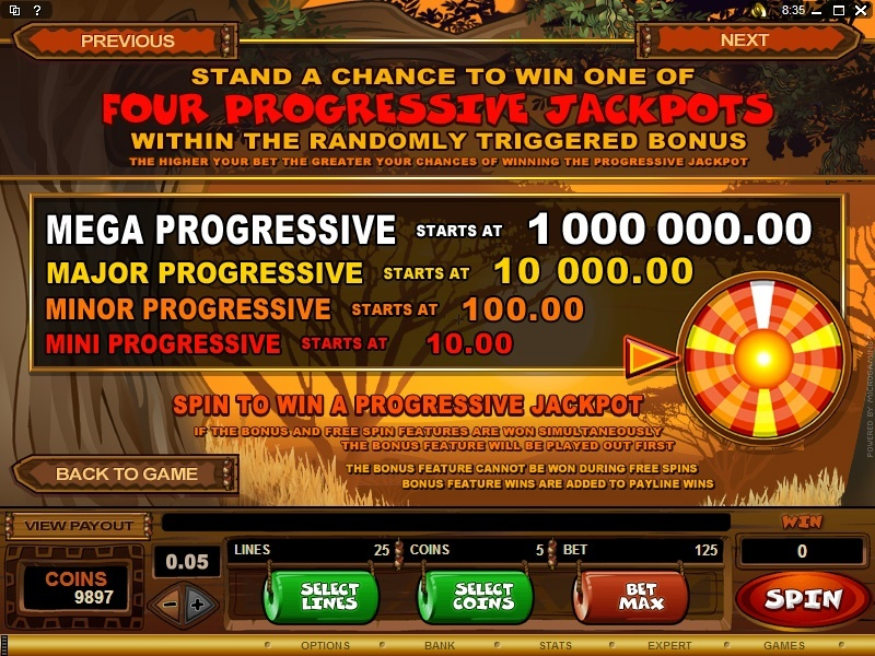 Mega Moolah 2019 - NZ$1,600 Bonus & Multi Million Jackpot