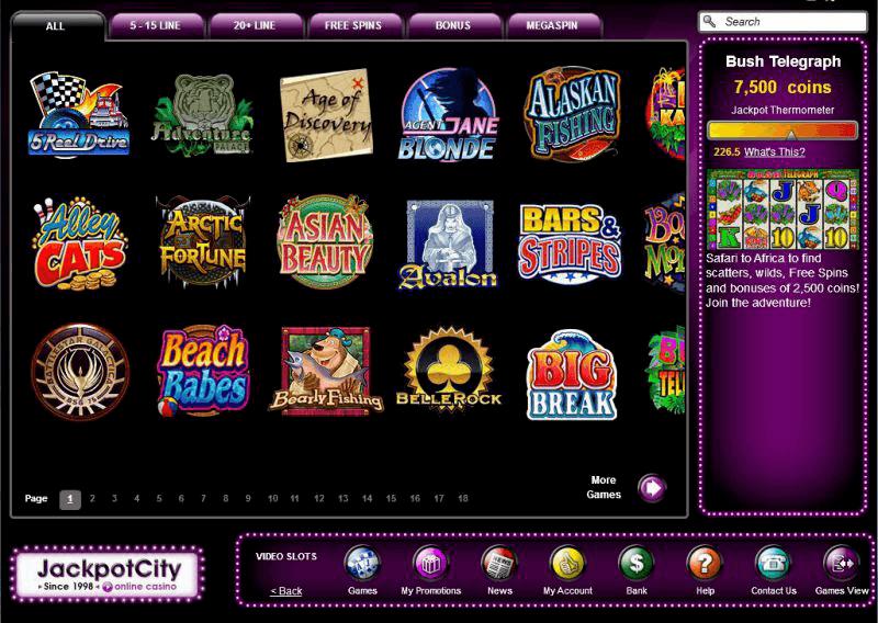 Jackpot City Seriös