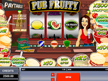 Pub Fruity App